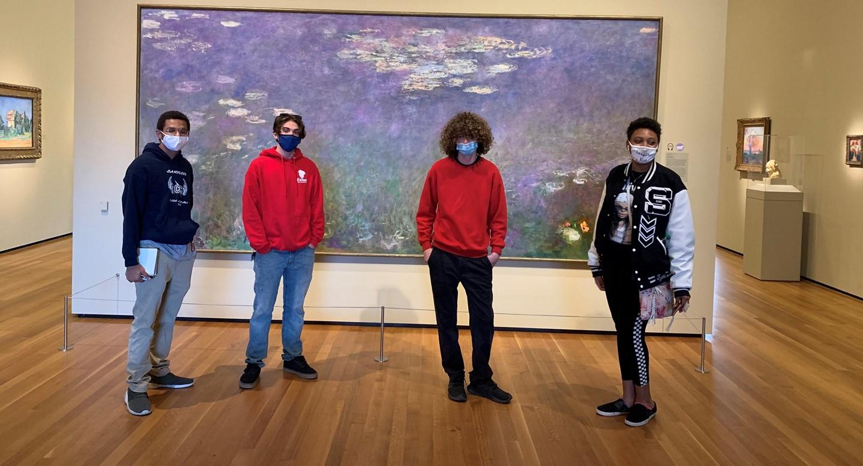 Students Visit Cleveland Art
