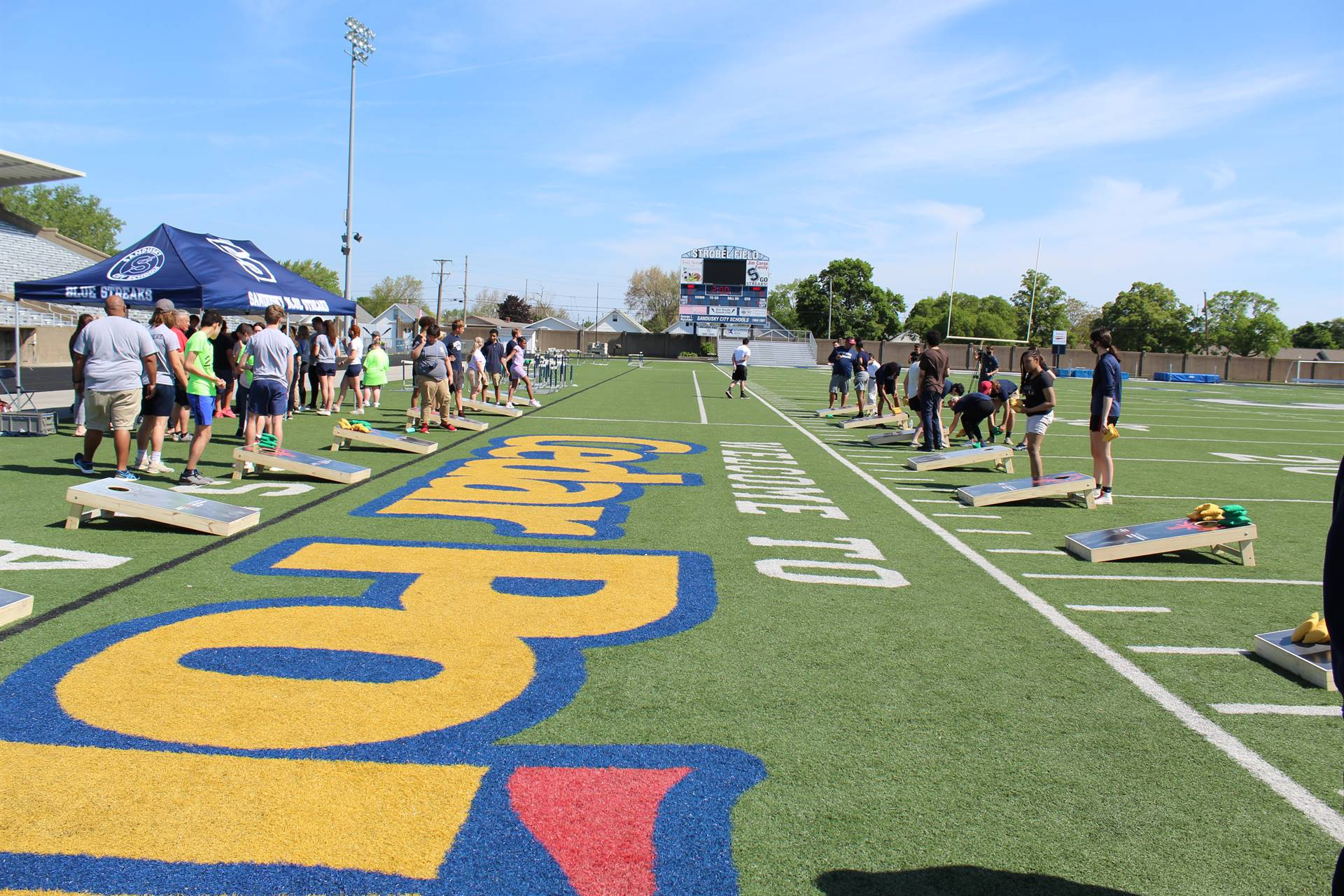 SMS Students Field Day