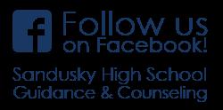 Follow us on Facebook - Sandusky High School Guidance & Couseling